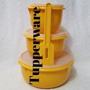 Tupperware Kitchen - 🍃⚘Tupperware⚘🍃3pc Classic Mixing Bowl Set
